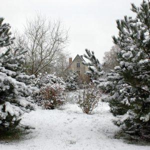 Le Manoir de Clairefontaine en hiver