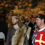 Troupe médiévale en visite