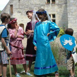 Visite costumée pour les enfants